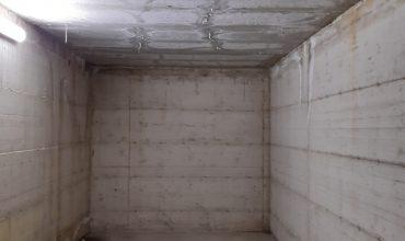 Infiltrazioni d'acqua nei box e locali interrati
